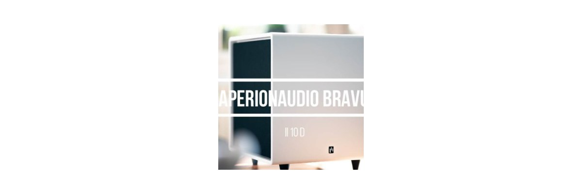 Hifi Stereo takes a close look at the AperionAudio Bravus II 10D on Youtube - Hifi Stereo takes a close look at the AperionAudio Bravus II 10D on Youtube