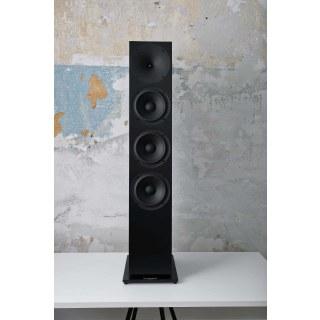 Buchardt Audio A700 Schwarz Seidenmatt ohne Abdeckung