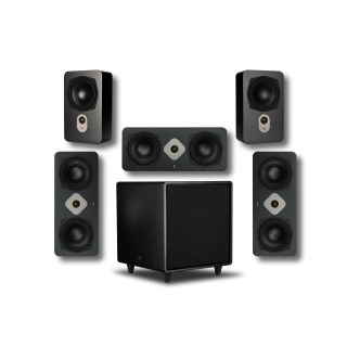 AperionAudio Novus Wallspeaker Surround Set
