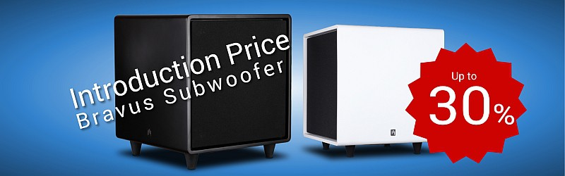 Special offer for the market launch of the AperionAudio Bravus subwoofer